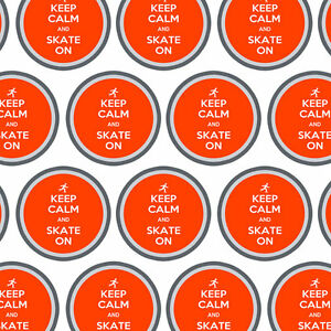 Premium Gift Wrap Wrapping Paper Roll Keep Calm and P-Y