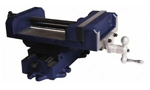 76-734-3 Cross Slide Drill Press Vise 6