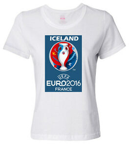 ICELAND Euro Cup 2016 - Soccer - Football - Women's T-Shirt