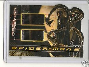 Spiderman 2 Real piece of Action card $13.00
