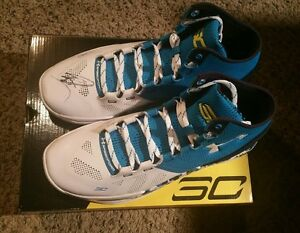 Stephen Curry Signed Autographed Under Armour Shoe Haight Street Size 11 JSA LOA