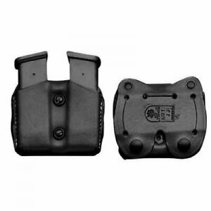 DeSantis Double Magazine Pouch For Glock 43 Magazines Black