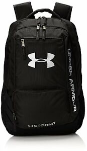 Under Armour Hustle II Backpack Black One Size (1263964) (Sports Apparel) CXX