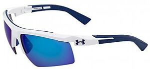 Under Armour Men's  Sunglasses White and Navy Frame Rx Able Multiplextion