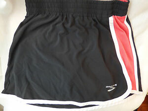 Brooks Running SKoRT Women's Epiphany Black Pink Size XS Xtra Small Tennis Golf