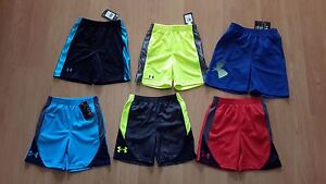 Under Armour Toddler Boy's Heat Gear Shorts Many Styles & Colors MSRP $20-$22