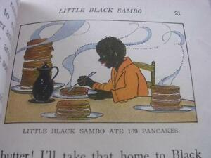 1936 Little Black Sambo-The Gingerbread Man & Titty Mouse & Tatty Mouse Book