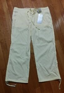 Under Armour Womens UA Studio Drawstrng Cropped Multi Pocket Pant Size S $99 NWT
