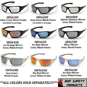 PYRAMEX GOLIATH SAFETY GLASSES MOTORCYCLE SPORT WORK SUNGLASSES Z87 1 PAIR $8.45