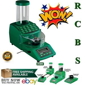RCBS Chargemaster Electronic Scales Powder Dispensers Electric Hopper 110 VAC US