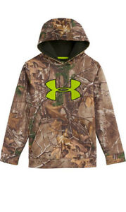 Under Armour Youth Camo Scent Control Hoodie (Realtree Xtra)