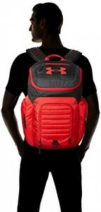Laptop Backpack Book Bag Tote Carrier Under Armour Storm Undeniable 2 Red Black