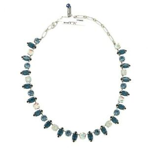 Mariana Handmade Swarovski Necklace 31431 1069 Mood Indigo Blue