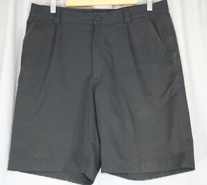 Under Armour Performance Mens Golf Shorts Black Size 34R