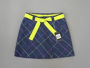 NEW WITH TAGS NIKE DRI FIT CONVERTIBLE GOLK SKORT SKIRT AND SHORTS SIZE 4 NAVY