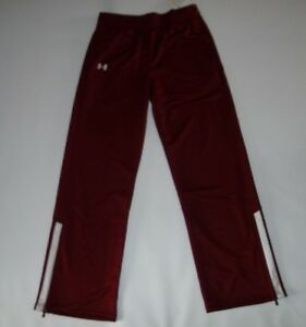 UNDER ARMOUR womens UA TEAM Warm-Up Athletic Campus PANTS Sz XL LONG Tall  NEW
