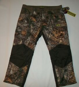 UNDER ARMOUR UA Storm Scent Control ColdGear BARRIER Camo Hunting PANTS Mens 3XL