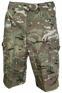 New British Army Multicam Shorts ( Choice of Size ) Military Surplus