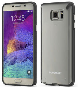 PUREGEAR SLIM SHELL BLACKCLEAR CASE COVER FOR SAMSUNG GALAXY NOTE 5 SM-N920