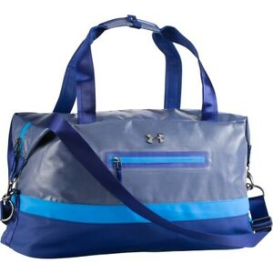 $135 NEW UNDER ARMOUR WOMEN'S PERFECT FLOW DUFFLE TRAVEL  BAG CASPIAN BLUE