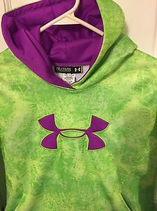Under Armour Girls' Storm Loose-Fit Hoodie YXL