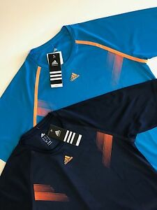 NEW 2-for-1 Men's Adidas Sport T-shirt Dry Fit Workout Running Gym Athletic Wear