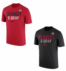 Ohio State Buckeyes 2017 NCAA Mens Legend Ignite Dry Fit T-Shirt