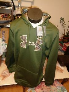 $69.99 NEW UNDER ARMOUR STORM CALIBER MENS HOODIE SWEATSHIRT  - XL TALL - (GMR)