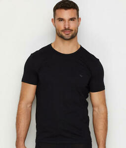 Emporio Armani Pure Cotton Crew Neck T-Shirt 3-Pack - Men's