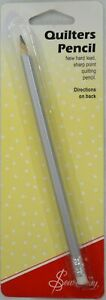 Sew Easy Quilter's Pencil New Hard Lead Sharp Point Pencil