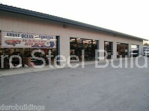 DuroBEAM Steel 50x75x14 Metal Buildings Auto Garage Workshop Structures DiRECT