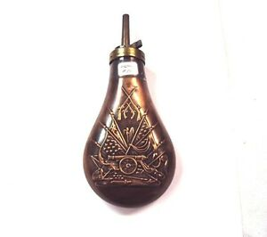 Brass Powder Reproduction 1860 Flask