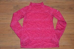 Nike pro girls kids fitted top shirt size M dry fit