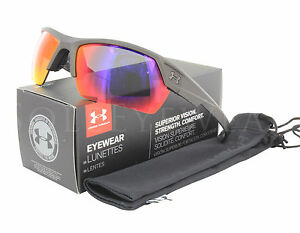 NEW Under Armour Igniter 2.0 Ceramic Charcoal Grey Infrared Multifl Sunglasses