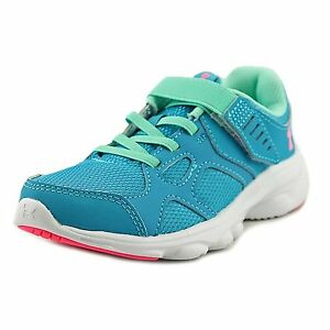 Under Armour Kids Girls UA GPS Pace RN AC Little Kid Bold AquaWhitePink Punk 2