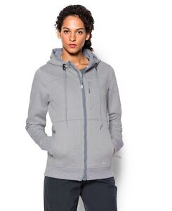 Under Armour Womens UA ColdGear Infrared Dobson Softershell Large True Gray