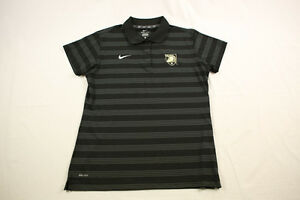NEW Nike Army Black Knights - Black Dri-Fit Polo Shirt (L) 4 Charity