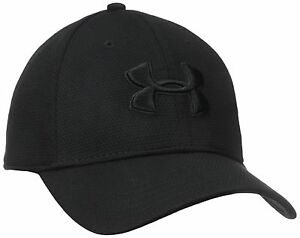 Under Armour Men's Blitzing II Stretch Fit Cap BlackBlack LargeX-Large