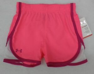 Under Armour Toddler Girls Bright Cerise Escape Shorts 2T
