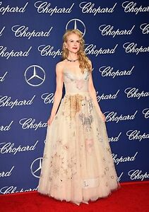 NWT Christian Dior Custom Made Low Décolleté  Embellished Gown FR38 US6