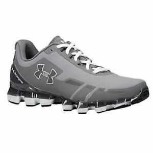 UNDER ARMOUR SCORPIO RUNNING SHOES (SIZE 9) MENS NEW 1258007-037 GREY UA