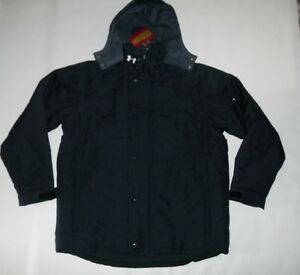 UNDER ARMOUR Coldgear Winter Insulated ELEMENT Hooded JACKET Coat mens Sz XL NEW