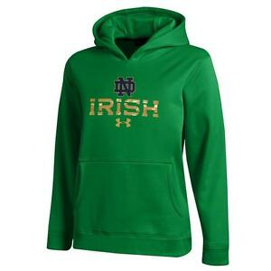 Boy's Under Armour Notre Dame Fighting Irish Performance Hoodie