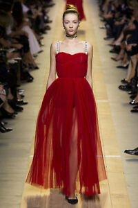 NWT Christian Dior Stunning Tulle Gown FR36 US4