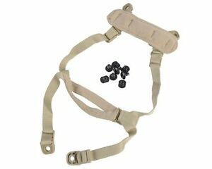 DLP Tactical H-Nape Enhanced Suspension for ACH  MICH  OPS-Core Helmet TAN