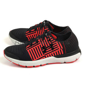 Under Armour UA Charged Gemini 3 BlackRed Sportstyle Running Shoes 1285652-004