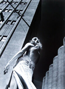 "HELMUT NEWTON (1920-2004) - ""ABSOLUT SITBON "" 1995  Unique photograph"