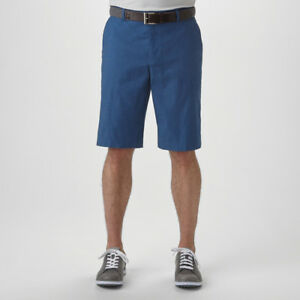 New Ashworth Mini Check Golf Shorts w Golfman Logo - Pick Bottoms