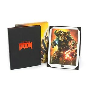 The Art of Doom Limited Edition Hardcover - NEW include Lithograph