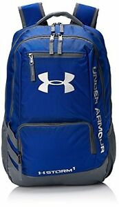 Under Armour Backpack Water Resistant High School College Laptop Bookbag Royal